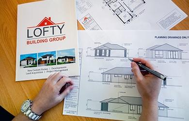 New Home Architecture Process