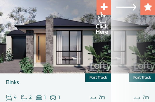 Add House to your Favourite List
