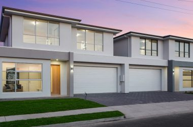 semi detached double storey home view from the street