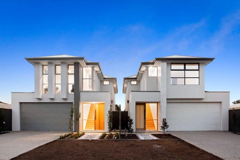 Facade Modren living home